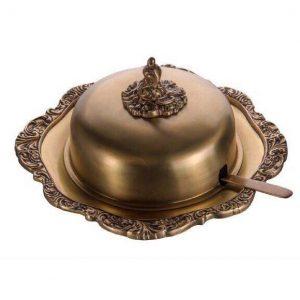 کره خوری فلزی هندی گلد کیش GK892215 Brass