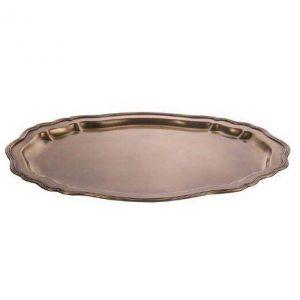 سینی بزرگ فلزی هندی گلد کیش GK892242 Brass