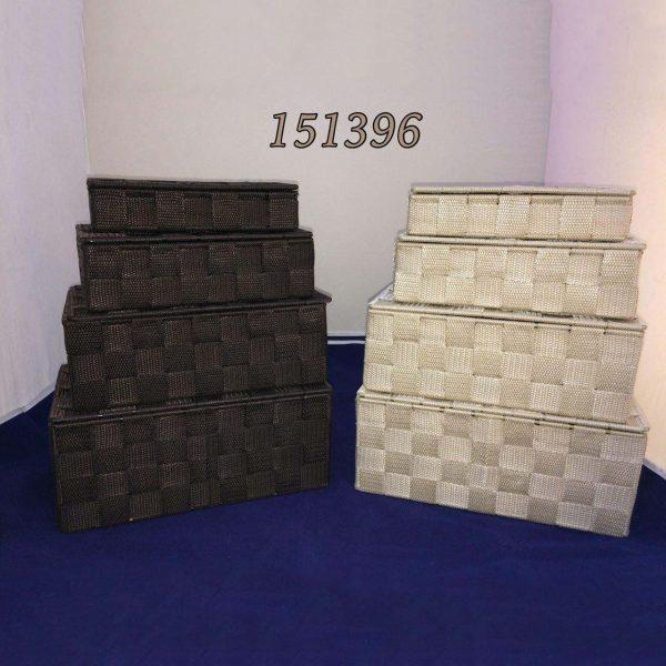 باکس نواری ست چهار تایی در دو رنگ 151396