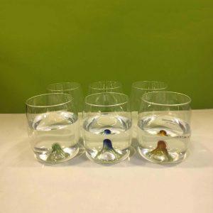 لیوان زیر حباب دار ست شش تایی GN53607