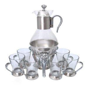 قهوه جوش وارمردار استیل طرح امپراطور ( سلطنتی )