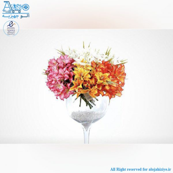 گل مصنوعی 27443 گلد کیش