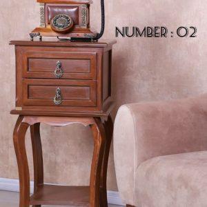 میز کنار سالنی کد 02