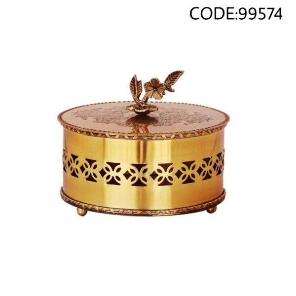 شکلات خوری برنجی کد 99574