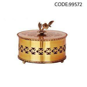 شکلات خوری برنجی کد 99572