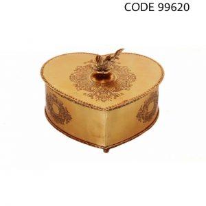 شکلات خوری برنجی کد 99620